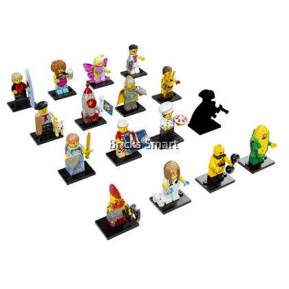 71018 LEGO Minifigures S17 - Complete 16