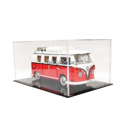 Acrylic Case with Black Base for 10220 LEGO Creator Expert Volkswagen T1 Camper Van