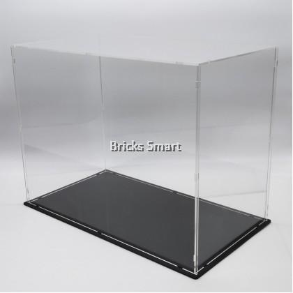 Acrylic Case with Black Base for 10269 LEGO Creator Expert Harley-Davidson