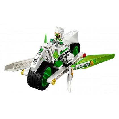 80006 LEGO Monkie Kid White Dragon Horse Bike