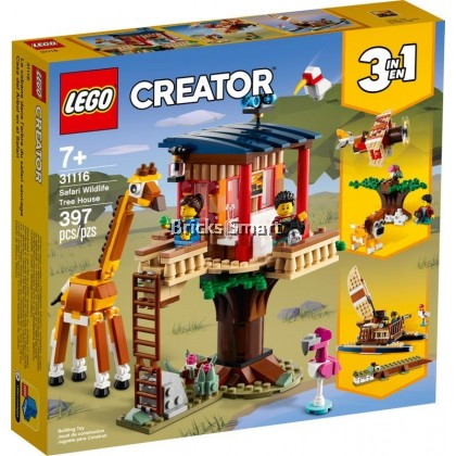 31116 LEGO Creator Safari Wildlife Tree House