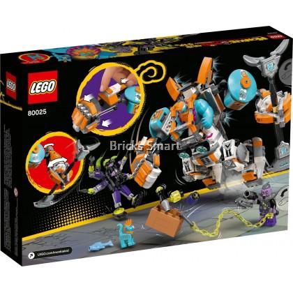 80025 LEGO Monkie Kid Sandy's Power Loader Mech