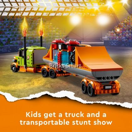 60294 LEGO City Stunt Show Truck (420 Pieces)