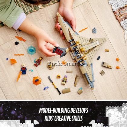 76237 LEGO Marvel Sanctuary II: Endgame Battle (322 Pieces)