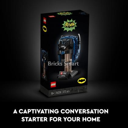 76238 LEGO DC Classic TV Series Batman Cowl (372 Pieces)