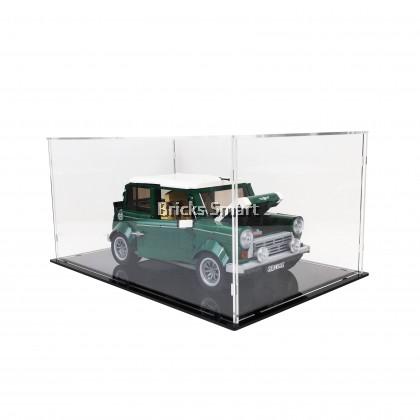 Acrylic Case with Black Base for 10242 LEGO Creator Expert MINI Cooper MK VII